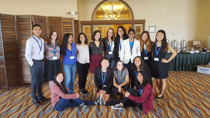 UCSD CSE Students at Celebration of Women in Computing in Southern California (CWIC-SoCal)