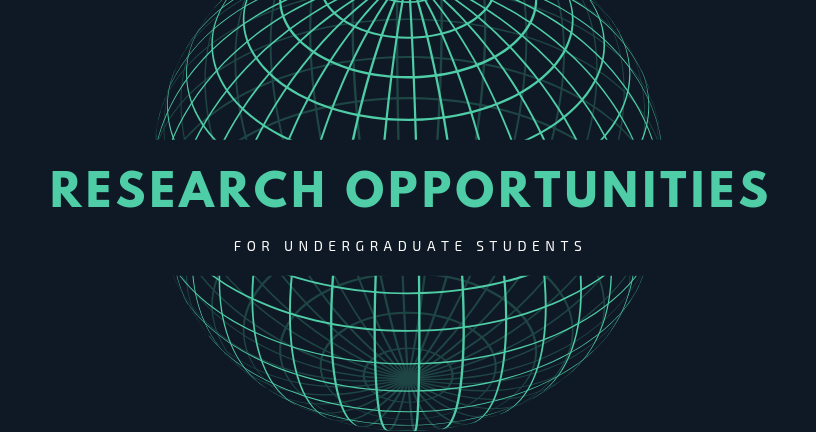 Undergraduate Student Research Opportunities