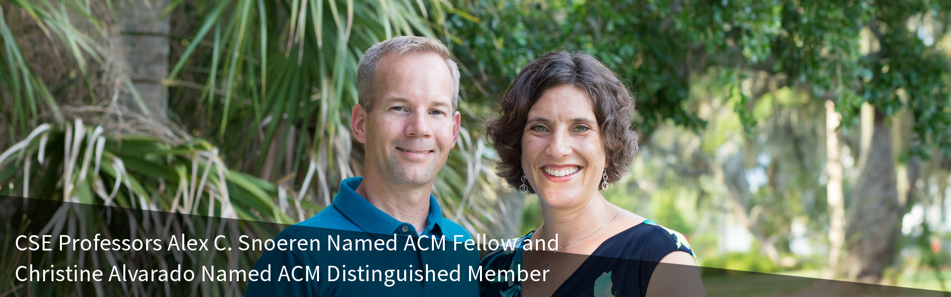 CSE Professors Alex C. Snoeren Named ACM Fellow and Christine Alvarado Named ACM Distinguished Member