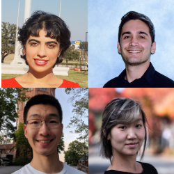 New CSE Fellows (l to r): (First Row) Samira Mirbagher Ajorpaz, Daniel Moghimi, (Second Row) Grant Ho, Jane E