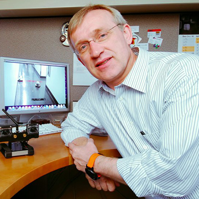 CSE professor Henrik Christensen is director of the Contextual Robotics Institute at UC San Diego.
