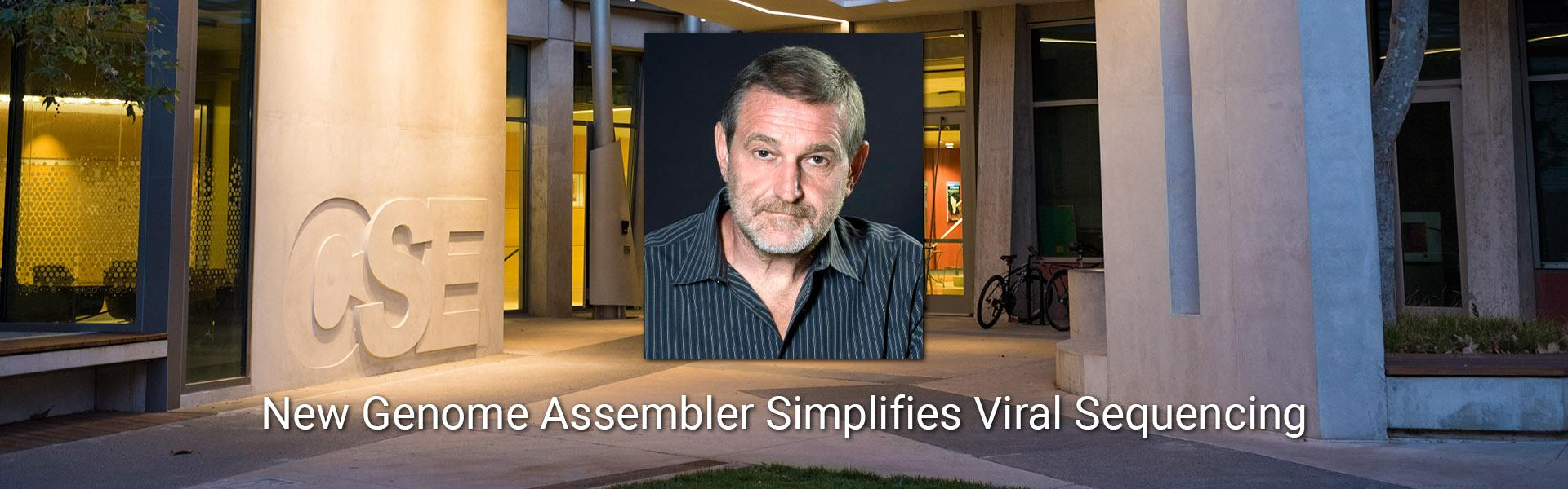 NEW GENOME ASSEMBLER SIMPLIFIES VIRAL SEQUENCING