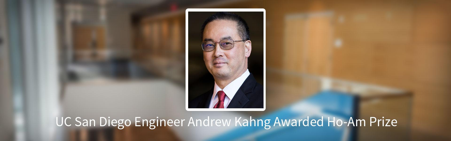 Andrew Kahng Awarded