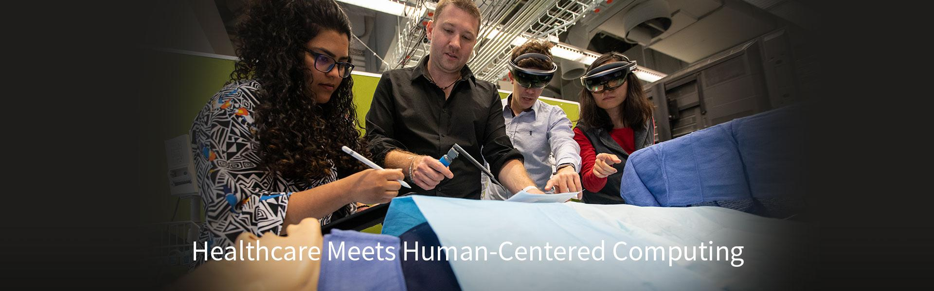 Healthcare Meets Human-Centered Computing