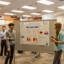Poster session for Early Research Scholars Program in CSE.