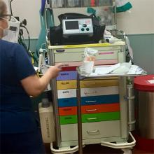 Uncertain environments like this hospital emergency department make it difficult for staff to team with robots.