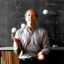 Ron Graham, mathematician, computer scientist, juggler and magician