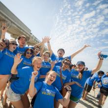 Nearly 20,000 UC San Diego students volunteers over three million hours of community service annually.